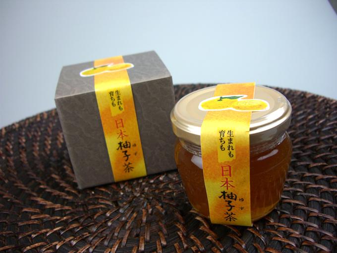 日本柚子茶...
